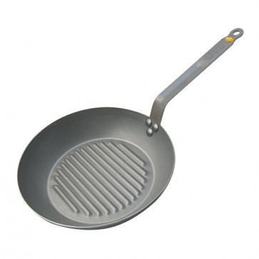 De Buyer grillpande Carbon Plus 30cm