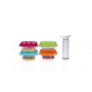Vakuumbokssæt babymad BPA-fri