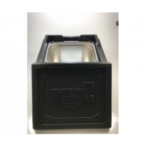 12 liter kar med udskæring i låg, bundrist og termokasse