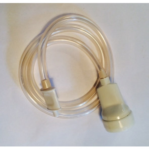 Vakuumslange med bredt mundstykke til OBH, Caso, Steba og MagicVac vakuumpakker